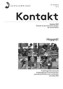 Kontakt 2013/2