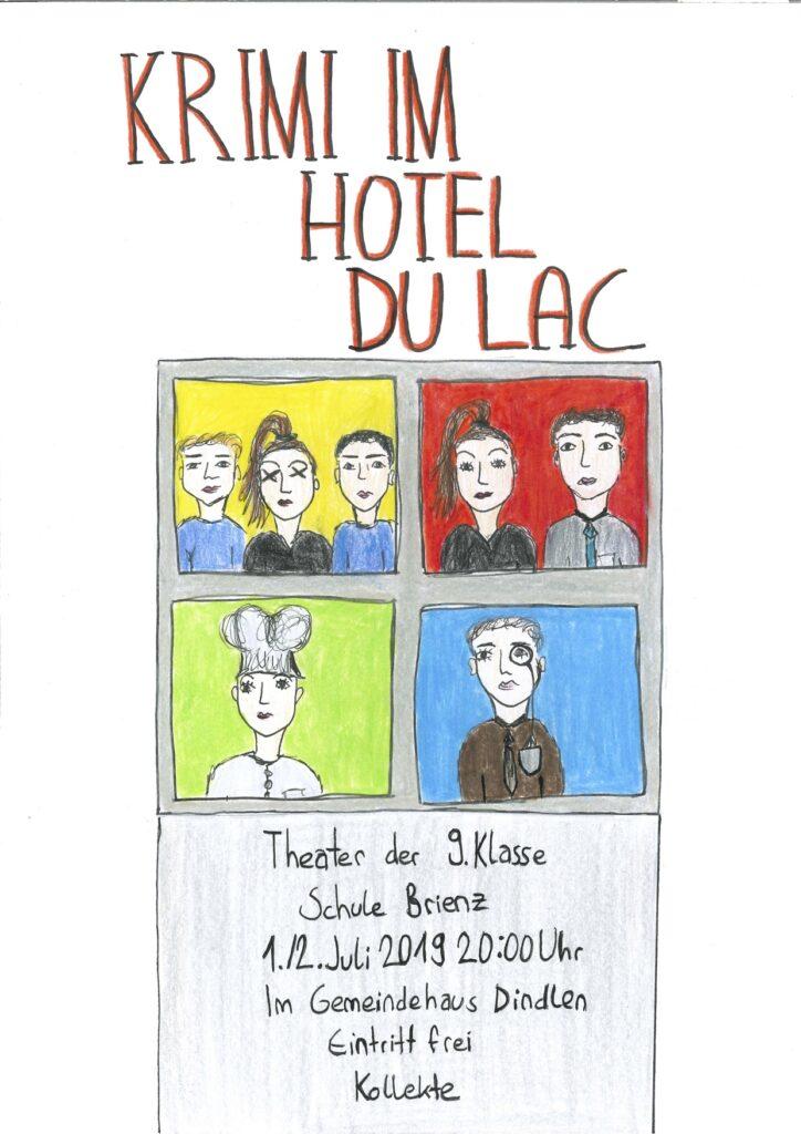 Krimi im Hotel du Lac